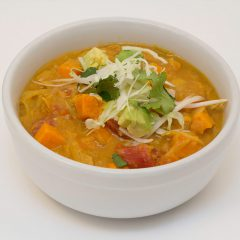 Thumbnail - Curried Peanut Sweet Potato, Navy Bean & Cabbage Stew