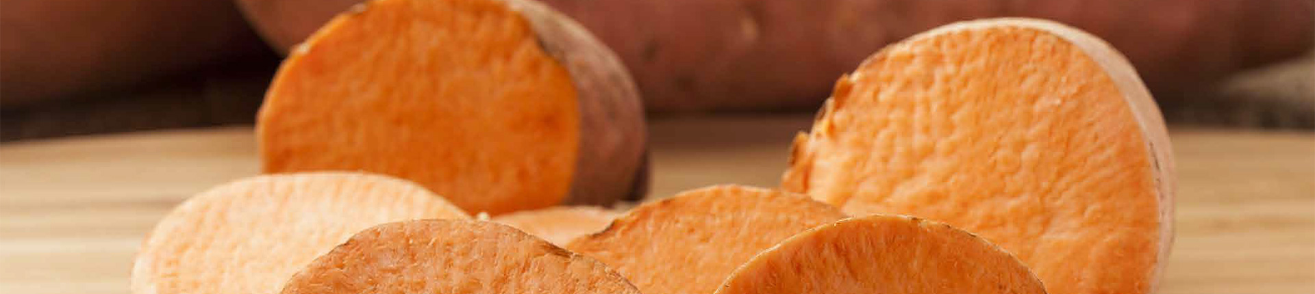 Our Sweet Potatoes Banner