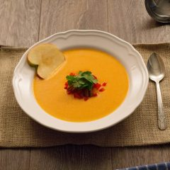 Thumbnail - Savoury Sweet Potato Apple Soup