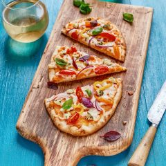 Thumbnail - Sweet Potato and Herbed Goat Cheese Flatbread