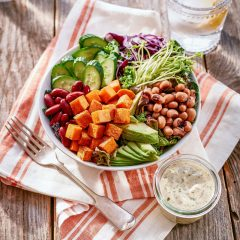 Thumbnail - Southern Sweet Potato Power Bowl with Creamy Cilantro Lime Dressing